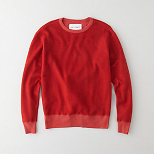 REVERSIBLE CREWNECK SWEATSHIRT