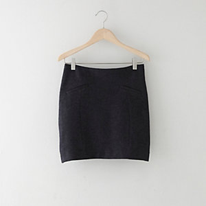 SOPHIE WOOL MINI SKIRT