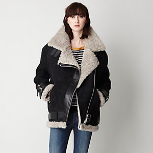 VELOCITE SHEARLING LINED JACKET