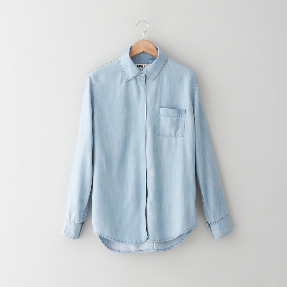 WAVE LIGHT DENIM SHIRT