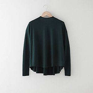 JENNA PLEAT BACK TEE