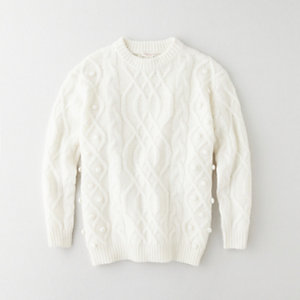 UMA CABLE KNIT SWEATER