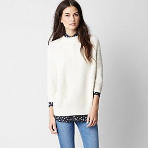 Chelsea Rib Cashmere Sweater