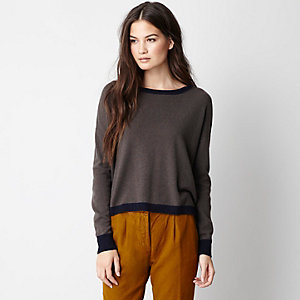 Alexa Cropped Cashmere Sweater