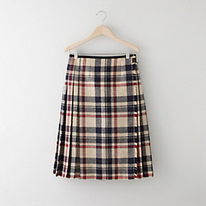 WOOL KILT SKIRT