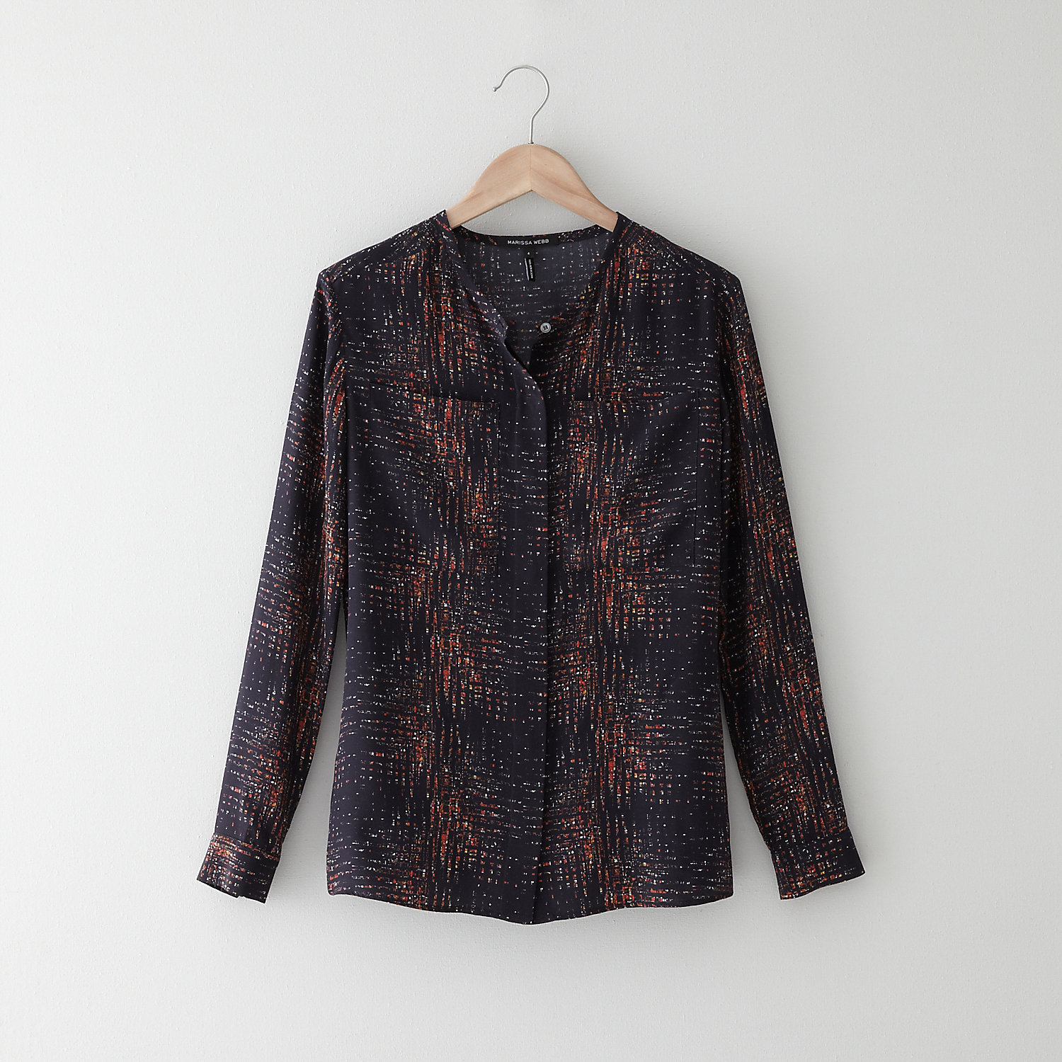 LYNETTE CITY LIGHTS BLOUSE