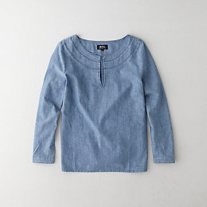 DJEBEL CHAMBRAY BLOUSE