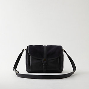 ALI SUEDE AND LEATHER BAG