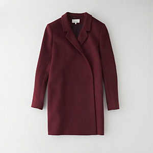 INES VIRGIN WOOL COAT