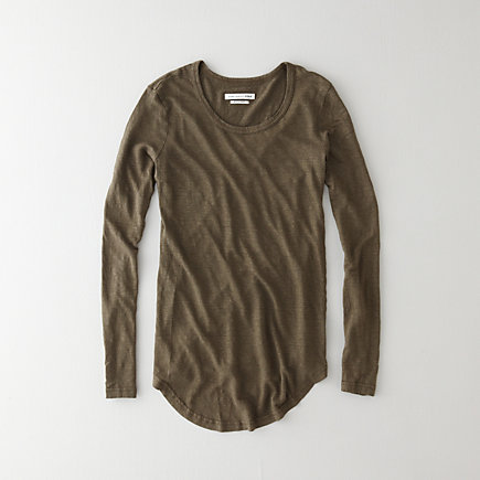 Lacy Long Sleeve Tee