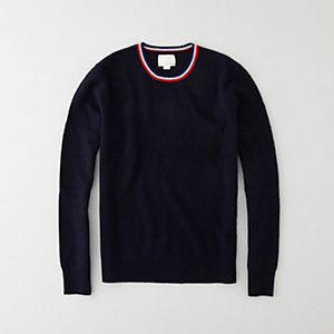 Tip Crew Neck Sweater