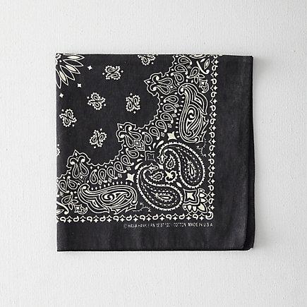 Paisley Bandana Worn Out Wash