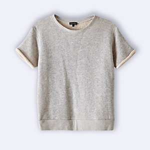 DANE SHORT SLEEVE SWEATSHIRT
