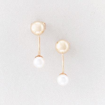 pearl-hook-earring by steven-alan