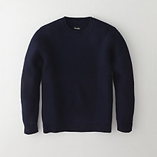 HEAVY CREW NECK SWEATER