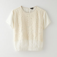 EMBROIDERED AVERY TOP