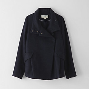 CROPPED WOOL JACKET