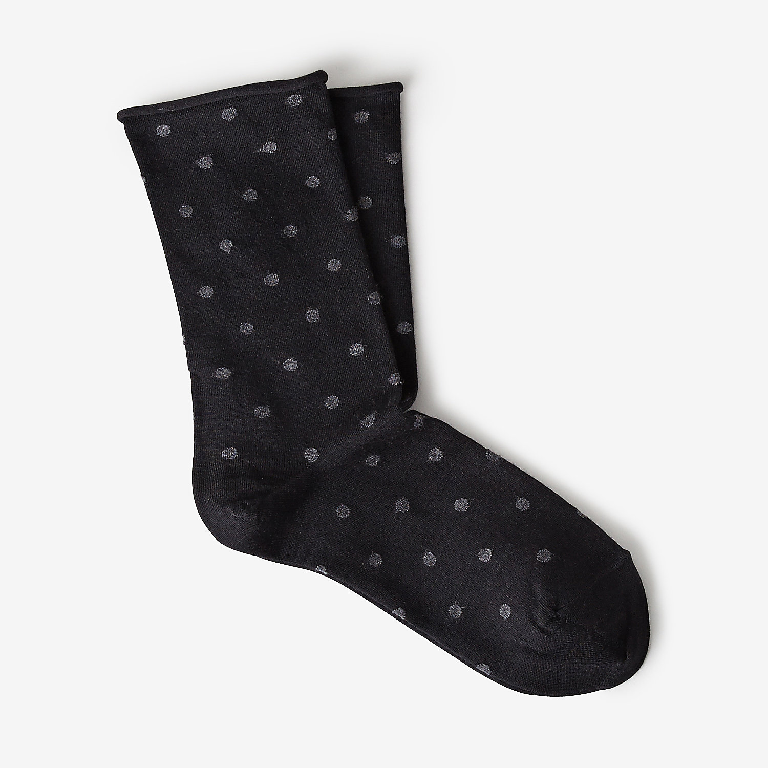 POLKA DOT WOOL SOCK