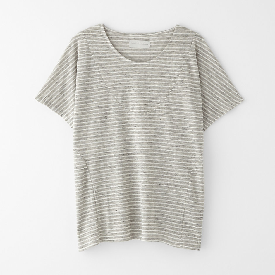 BASIA STRIPED TEE