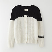 DROWNING CABLE CARDIGAN