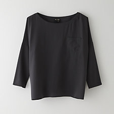 BOXY POCKET TOP