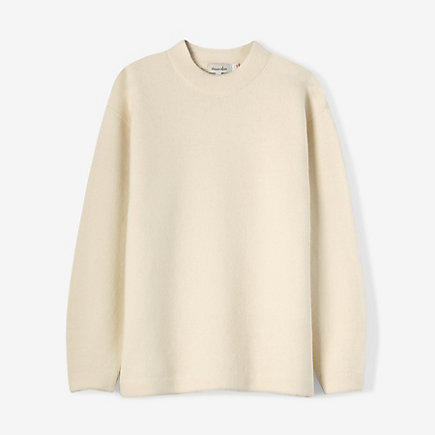 AIRY MOCKNECK SWEATER