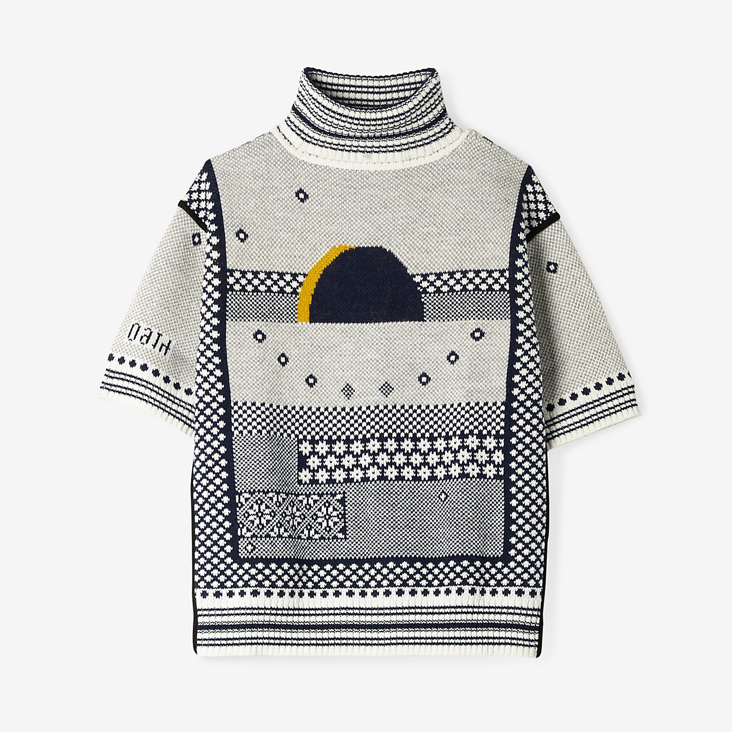INSTARSIA FOLK KNIT TURTLENECK