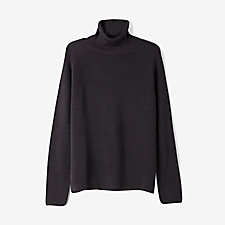 ENGLISH RIB KNIT TURTLENECK