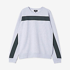 GIANT STRIPE SWEATSHIRT