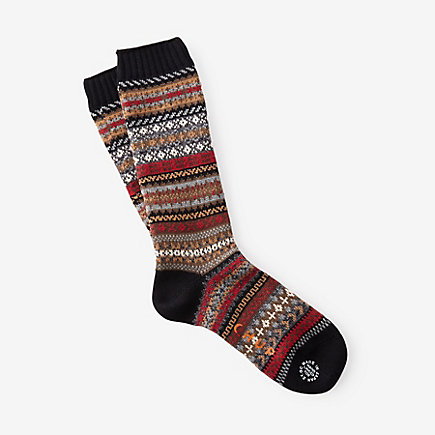 FAIRISLE FOLK SOCKS