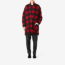 BLACK RED CHECK