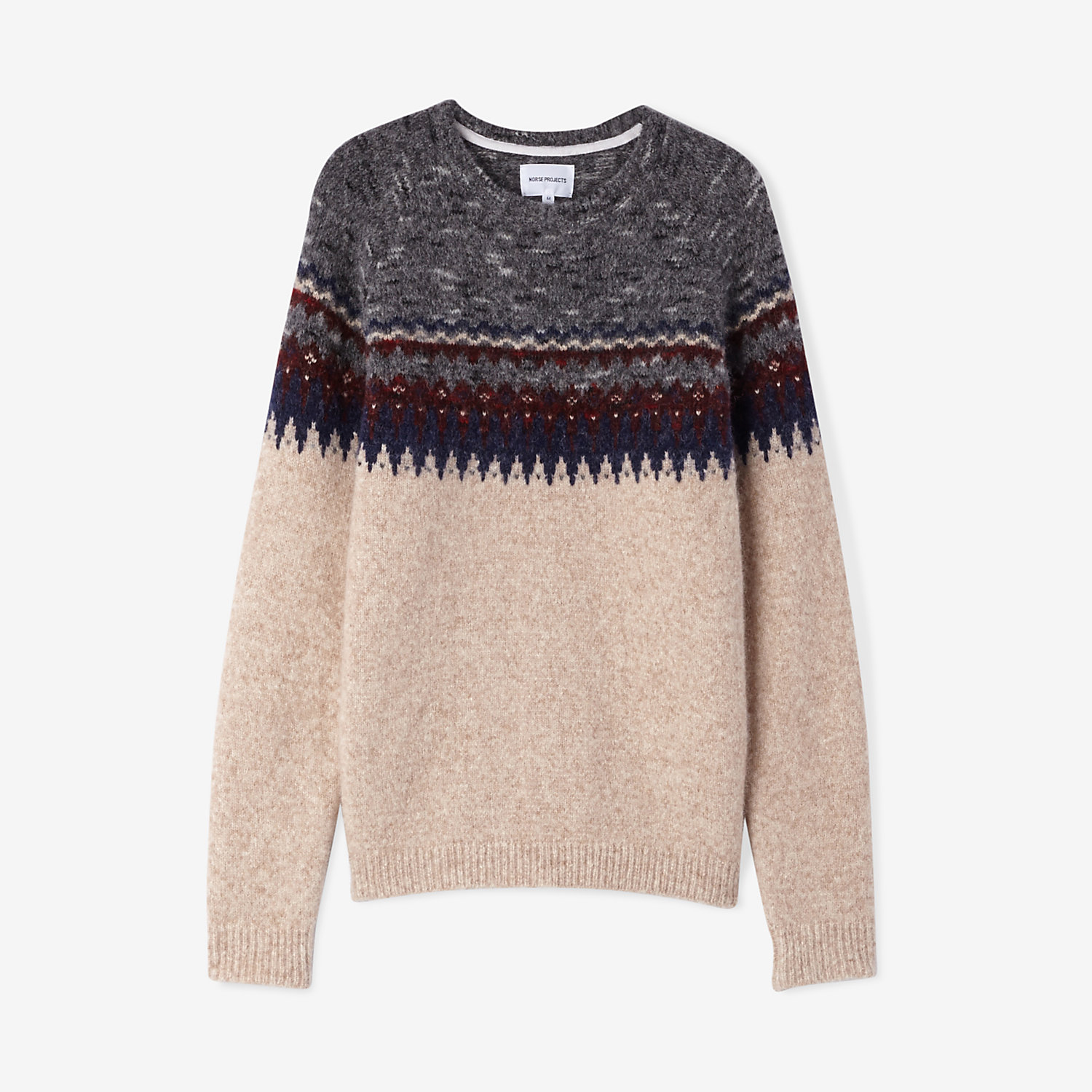 BIRNIR FAIRISLE ALPACA SWEATER