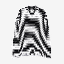 SIV DRY WOOL STRIPED PULLOVER