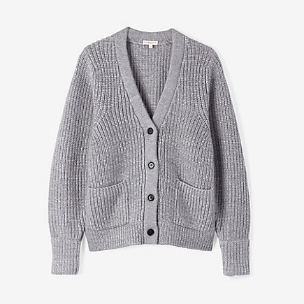 ELLEN BUTTON-DOWN CARDIGAN