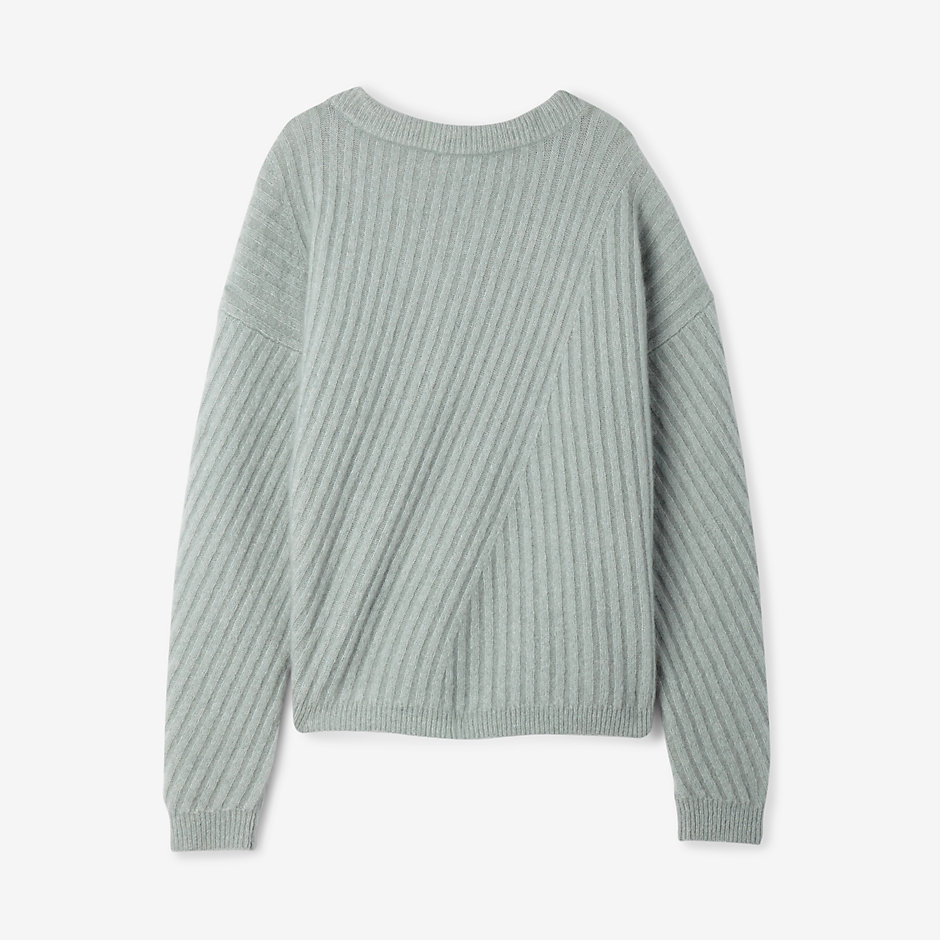 VIRDIS RIBBED MOHAIR SWEATER