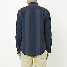 NAVY EARTH STRIPE