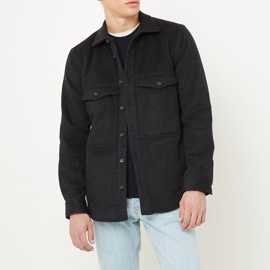 DOUBLE POCKET SHIRT JACKET
