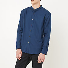FORTE BAND COLLAR SHIRT