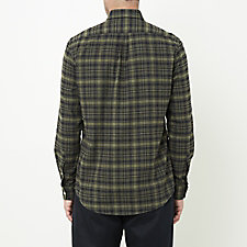 BLACK FATIGUE PLAID