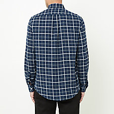 MIDNIGHT GREY PLAID