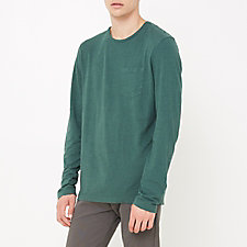 LONG SLEEVE HEMP POCKET TEE