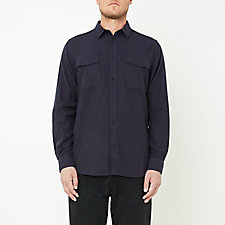 VILLADS COTTON WOOL SHIRT