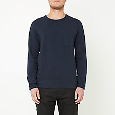 SUPIMA FLEECE POCKET SWEATSHIRT