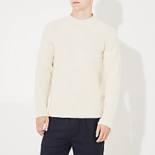 IMPERIAL WOOL SADDLE RAGLAN SWEATER