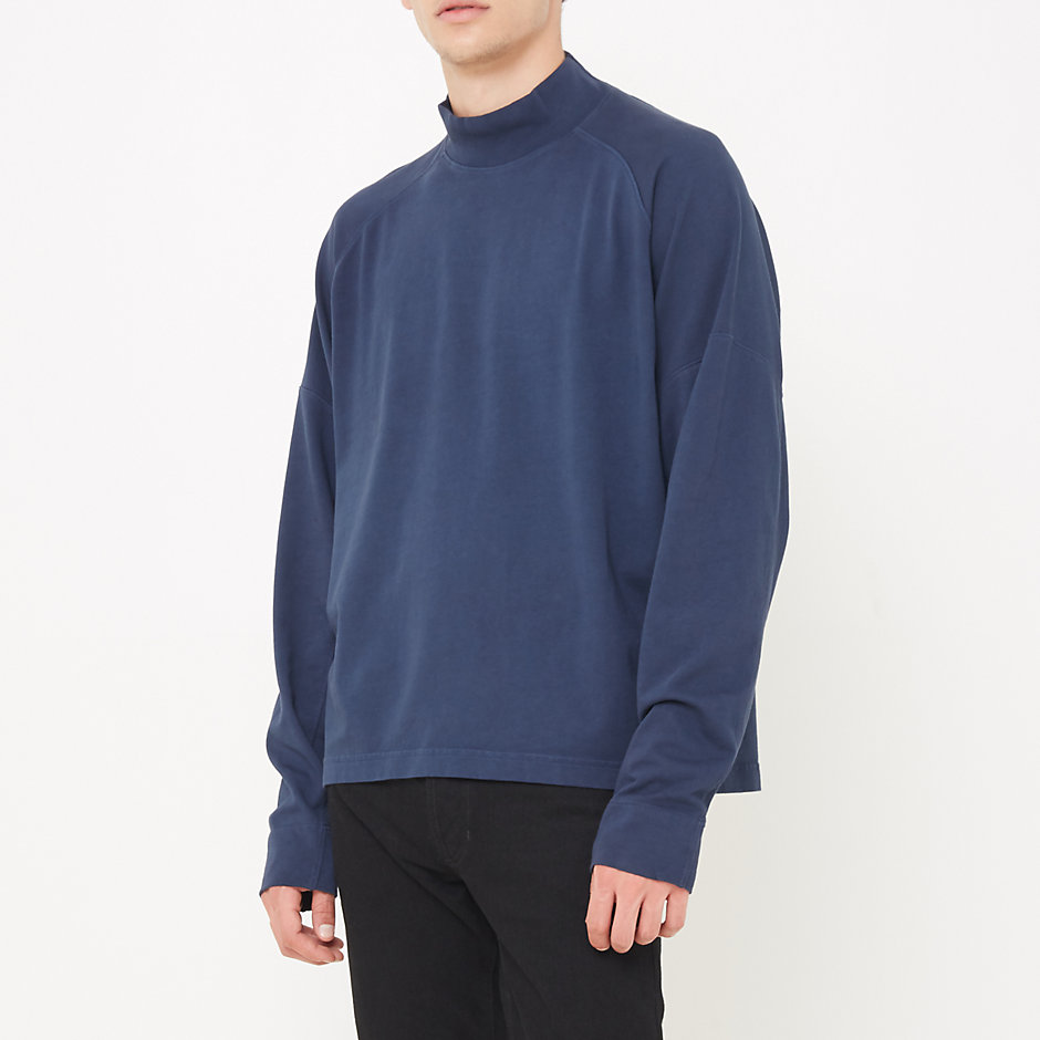 BUFFALO PANEL MOCK NECK PULLOVER
