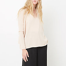 FLORENCE CASHMERE V-NECK SWEATER