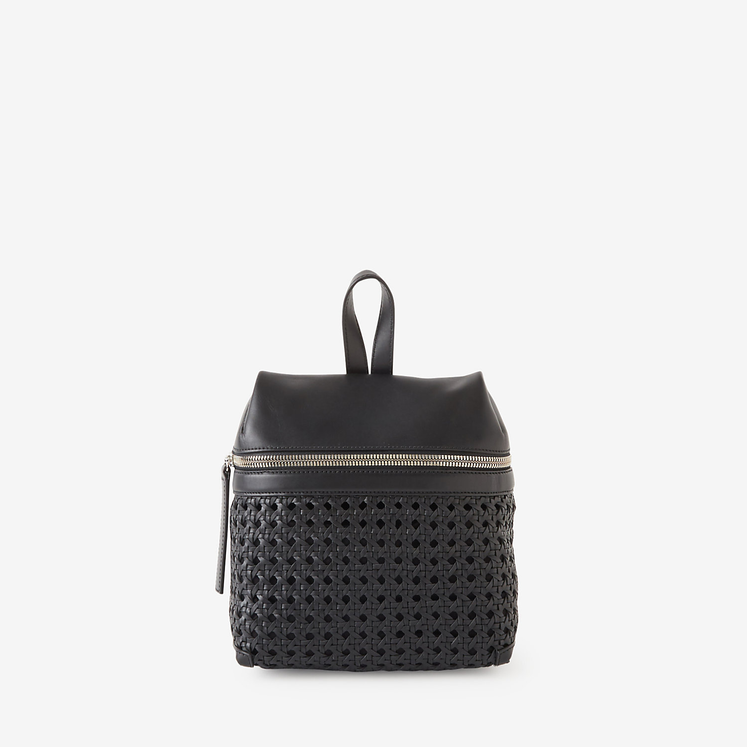 WOVEN SMALL BACKPACK
