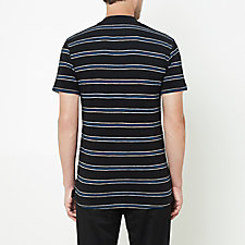 BLACK BLUE STRIPE