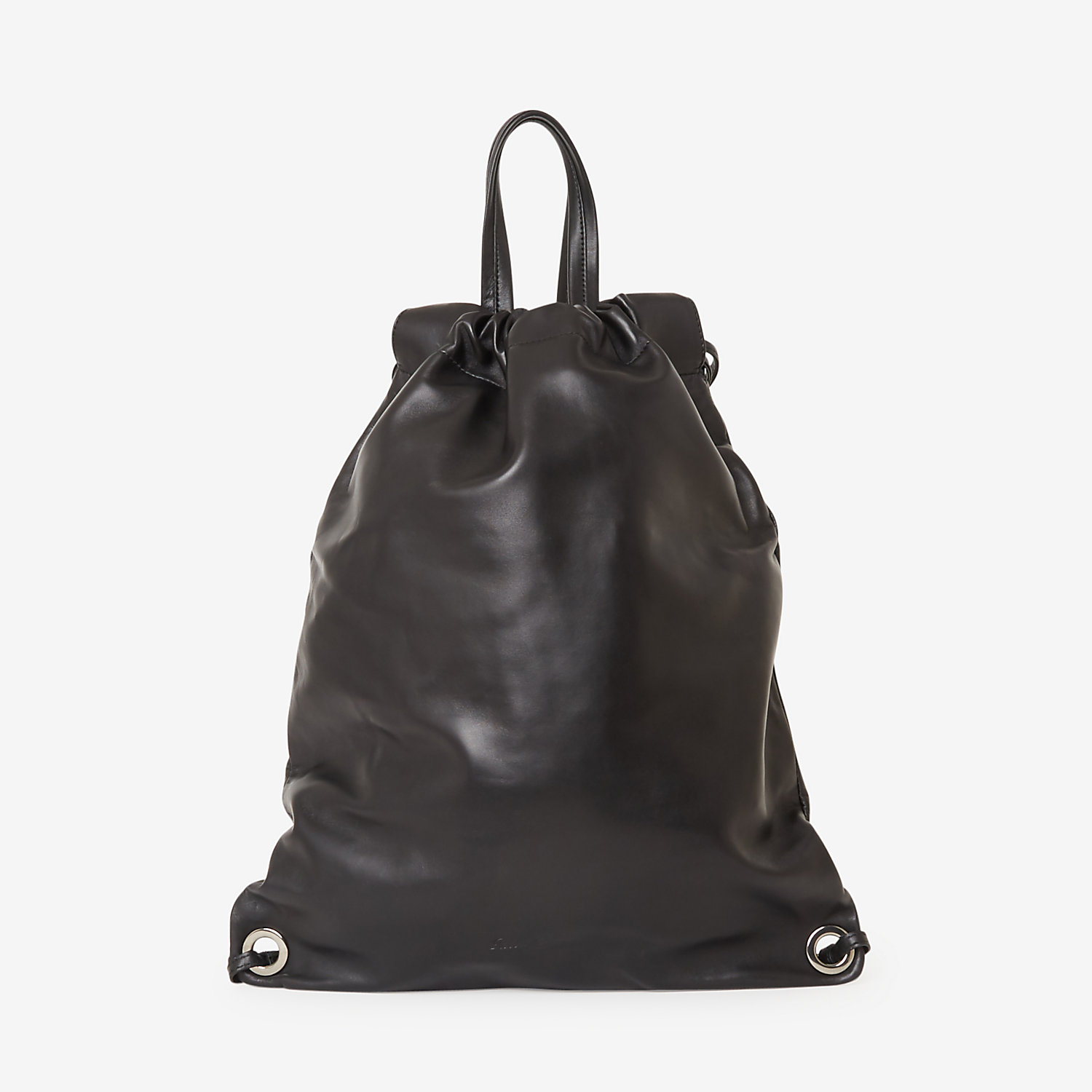 SPORTY LEATHER BACKPACK
