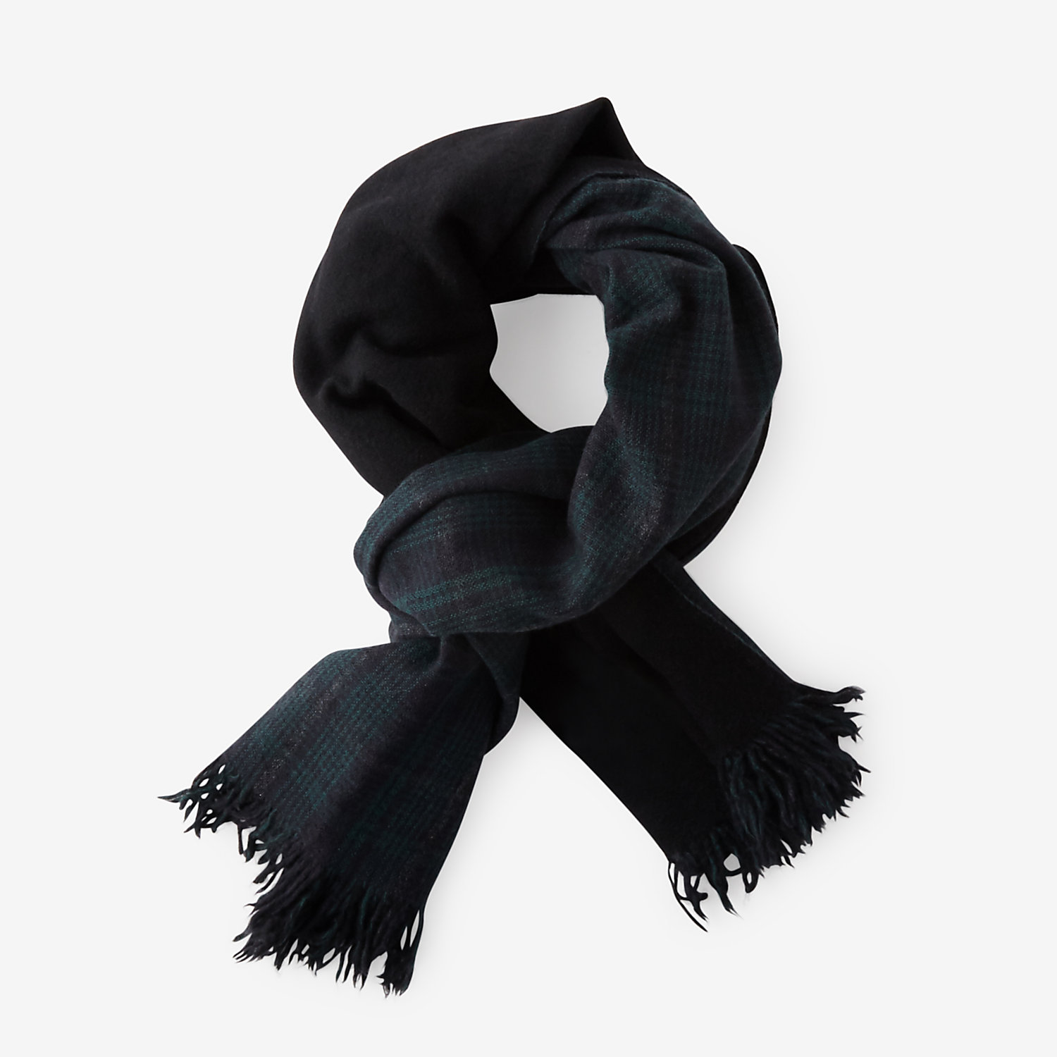 DOUBLE FACED CASHMERE SCARF